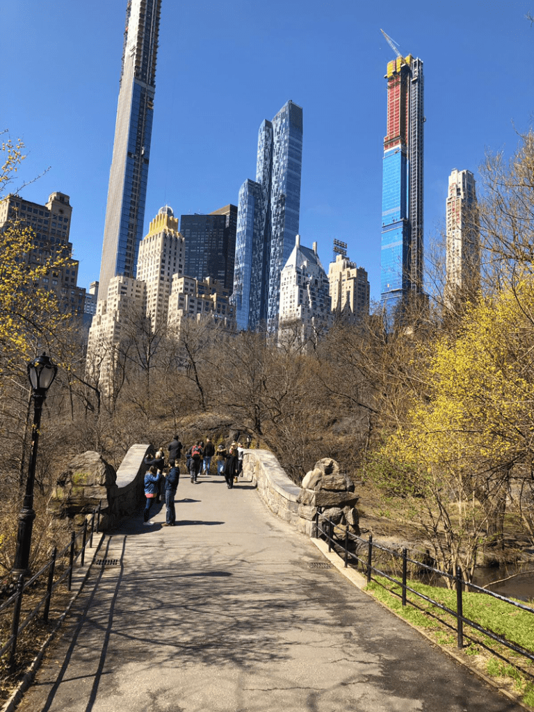 Central Park in NYC on a spring day