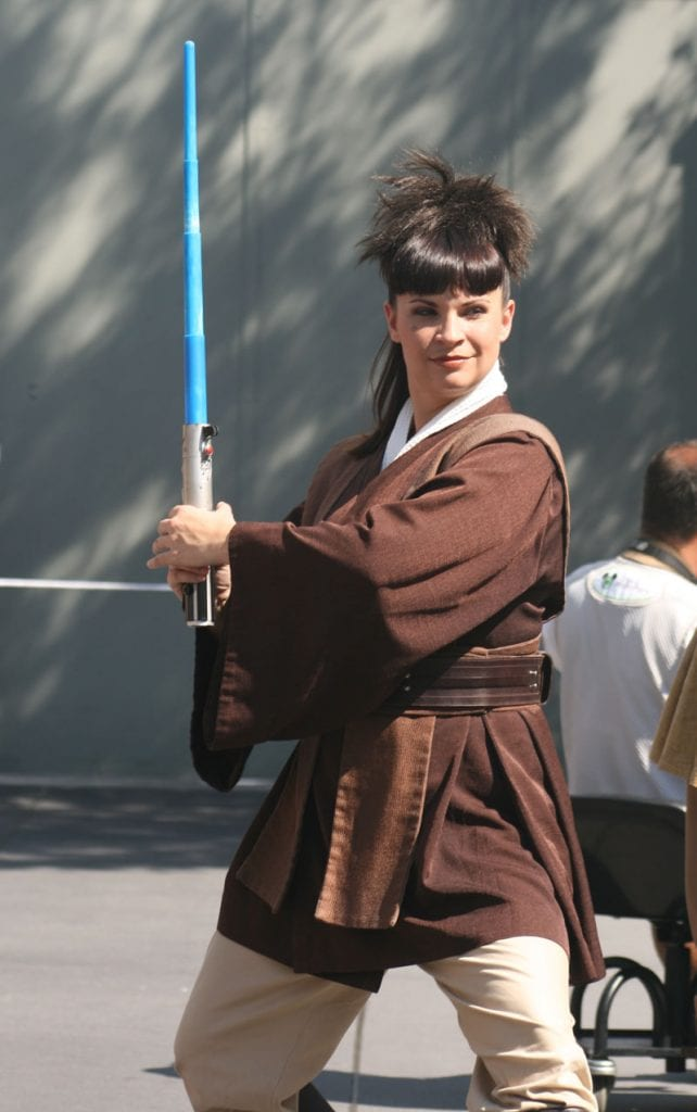 one of the jedi academy trainers at WDW Studios