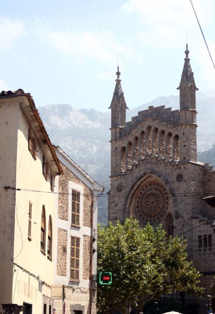 Church in Soller