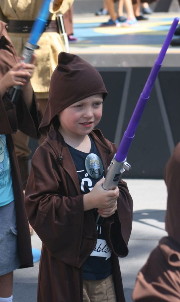 Jedi training Academy at WDW