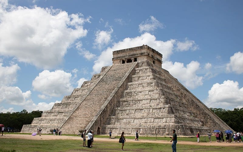 Chichen Itza easy to get to from Cancun