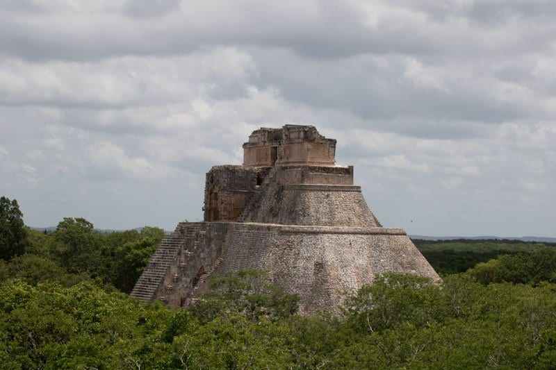 Magicians Pyramid at Uxmal