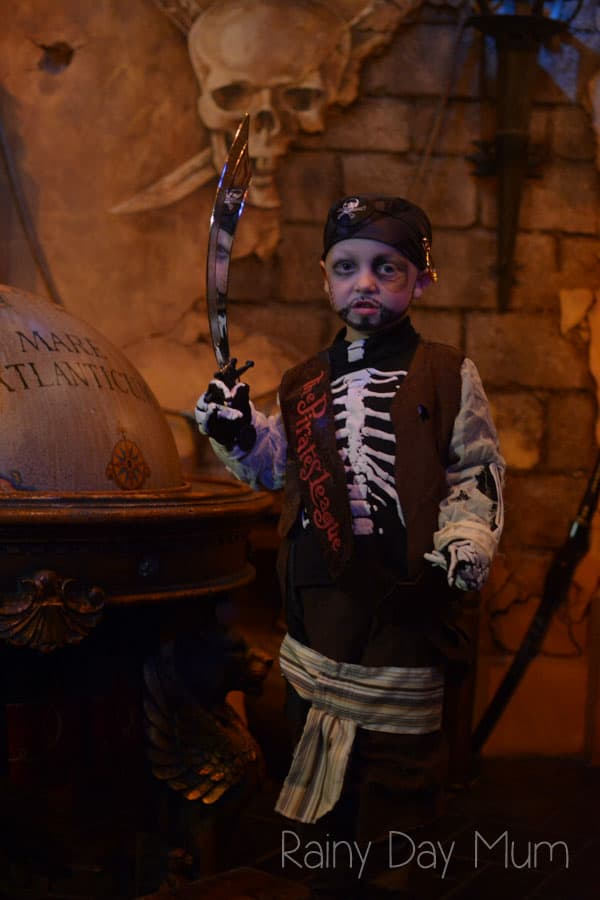 pirates league at magic kingdom