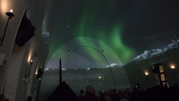 northern lights in the presentation