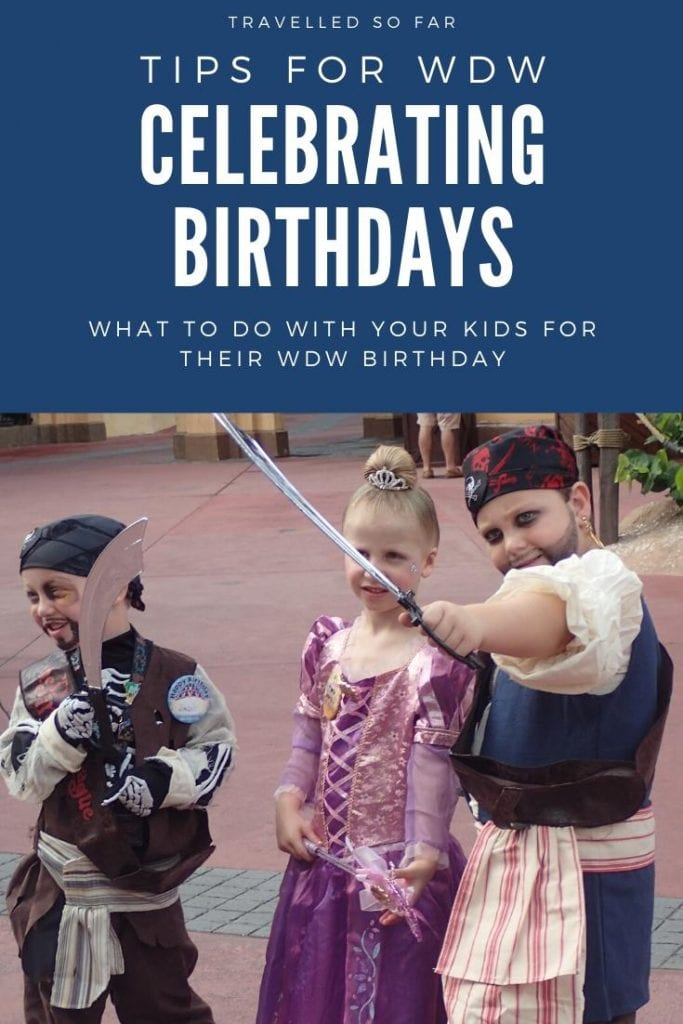 tips for wdw celebrating birthday dressing up