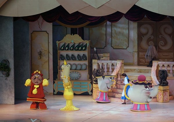 beauty and the beast show in hollywood studios