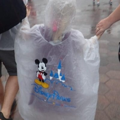 Top Tips for Walt Disney World in the Rain for Families