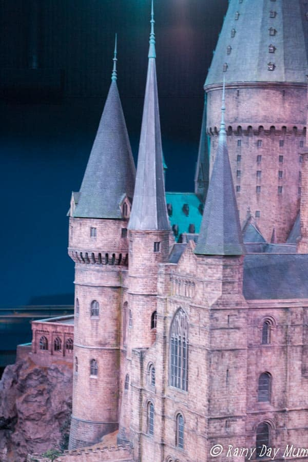 the making of harry potter studio tour London a glimpse at the model castle that wows you every time